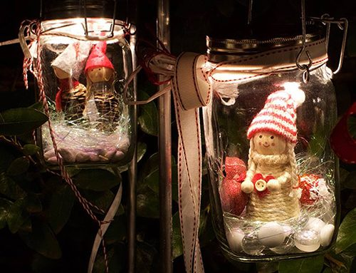 Decorating Your Consol Solar Jar™ This Festive Season